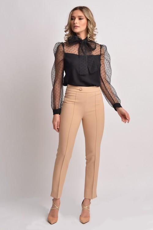 Bluza neagra eleganta
